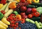 Овощи и фрукты требуют внимание